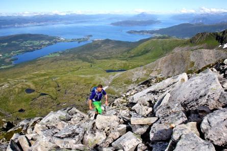 Still on the north ridge