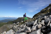 Jørgen has a good mountain day