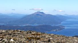 Skåla - highest peak in Molde