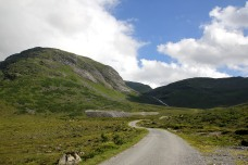 On the Hjortedalen toll road