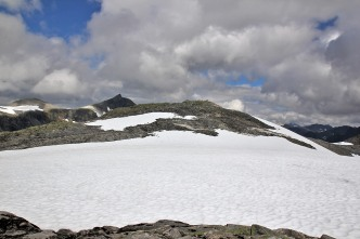 The summit comes into view