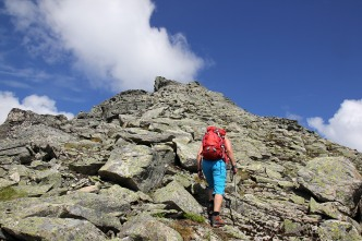 The summit is close