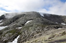 The ridge to Sygnesandsnipa