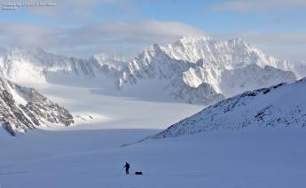 Atomfjella mountain range