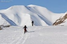 "On the Svalbard ""highway"""