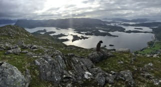 View towards Gurskøya