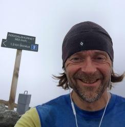 Selfie on top of Røddalshorn