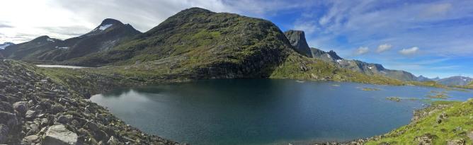 Fjellvatna lakes