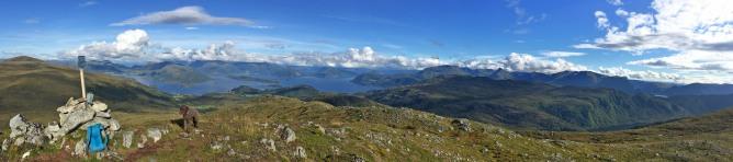 View from Røddalshornet