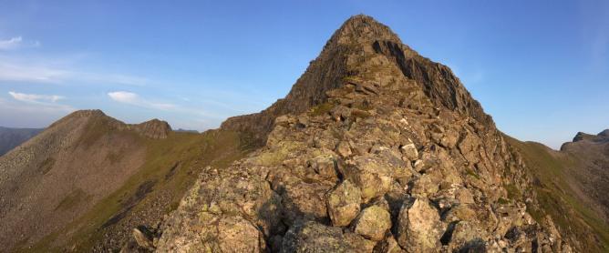 On the west ridge