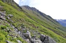 Ascent towards Kjerringøyra