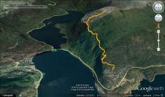 The route to Hesteggi