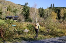 On the marked path to Grøssete