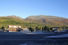 The skiing center