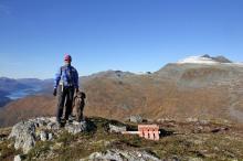 On top of Langvasshornet