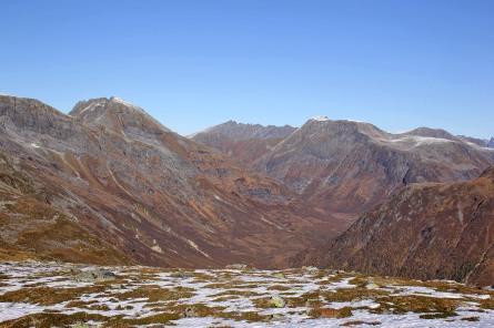View towards Bakkedalen