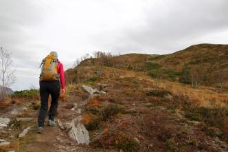 Heading up the Okla ridge