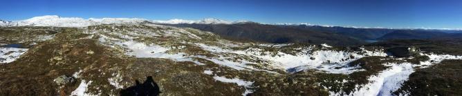 Spefjell summit view (2/2)
