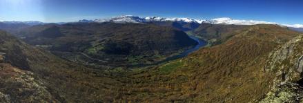 Sogndalsdalen and Dalavatnet