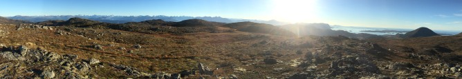 Storfjellet panorama (1/2)