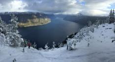 Årdalsfjorden view