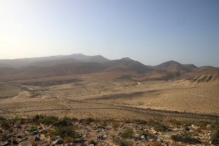 Looking back on Pico de la Zarza