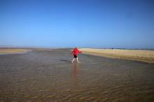 """""""Rivers"""" between the sandbanks"""
