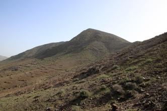 The north top of Morro de la Cruzada