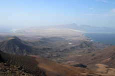 The south side of Fuerteventura