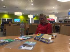 KIlling time at Ålesund airport