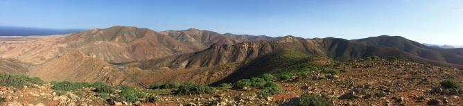 The ridge to Gran Montana
