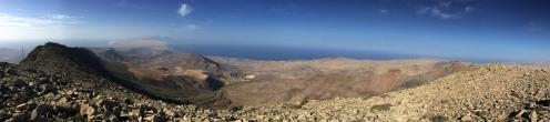 Cardon summit view