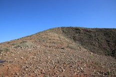 Towards Morro del Medio de la Caldera
