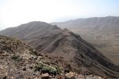 A lower ridge on the massif