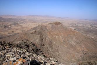 The north peak