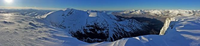 Panorama from Sunndalsnipa