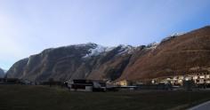 Langefjellet seen from Høyanger