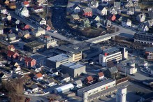 Downtown Høyanger