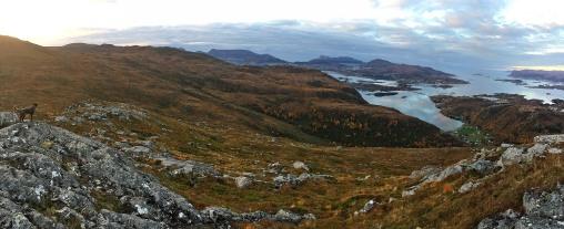 On the way to Sandvikhornet