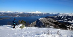 On top of Skåla
