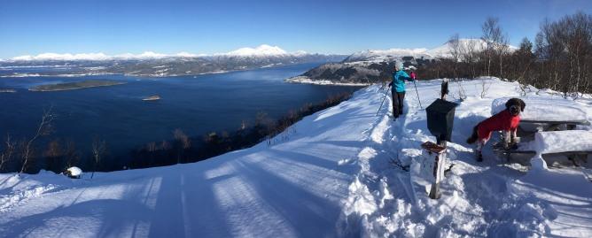 On top of Randsetfjellet
