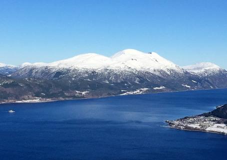 Skåla - the highest peak in Molde