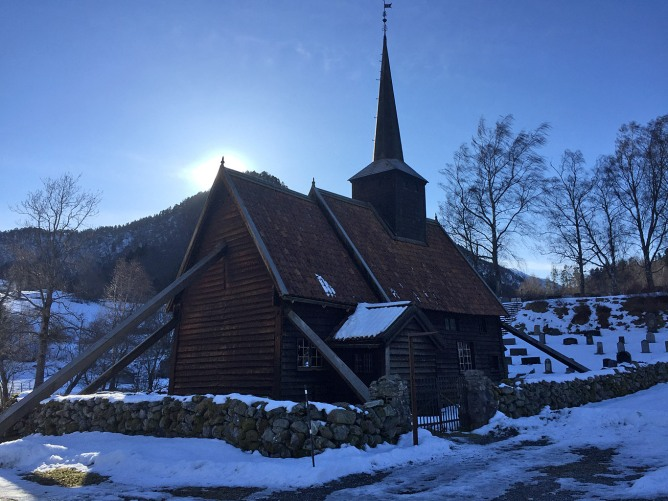 The Rødven Stave Church