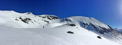 The Veirahaldet - Blåtinden massif