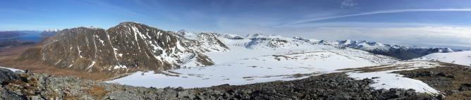 Storhornet summit view (1/2)