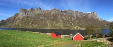 Syvdsalpane seen from Syvdsfjorden
