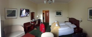 Our room at Hotel Hafnia