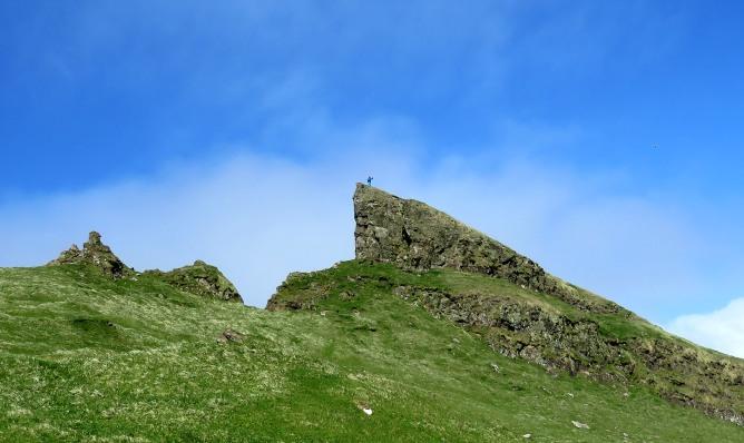 Me, on top of Klettur