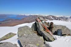 On top of Trollkoppehornet