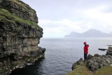 Gjógv cliffs